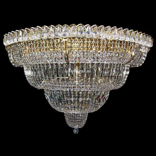 Люстра Хрустальный Водопад 17 ламп