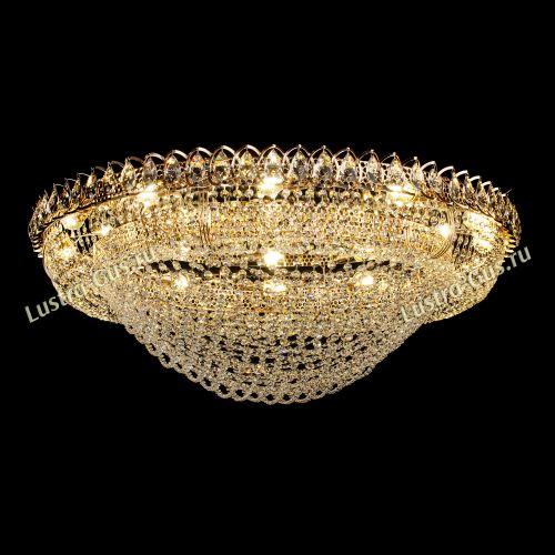 Люстра Лада, диаметр 1000 мм, золото, Люстры Гусь Хрустальный
