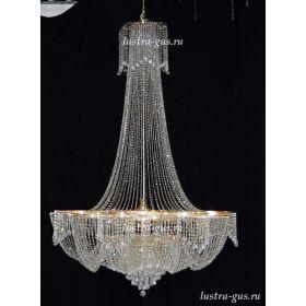 Подвесная люстра Лотос 36 ламп