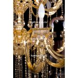 Люстра бронзовая Венера золото № 30