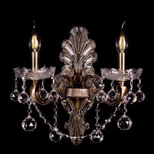 Бра под бронзу Венеция №1 - 2 лампы