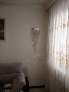 Люстра Виктория шар 800 мм отзыв и фото покупателя