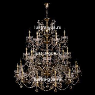Люстра подвесная Венеция №1 26 ламп под бронзу