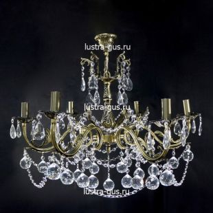 Светильник из бронзы Анжелика Шар 40 бронзовая