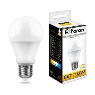 Теплый свет  Лампа светодиодная Ferron LB-92, теплый свет, 2700 К