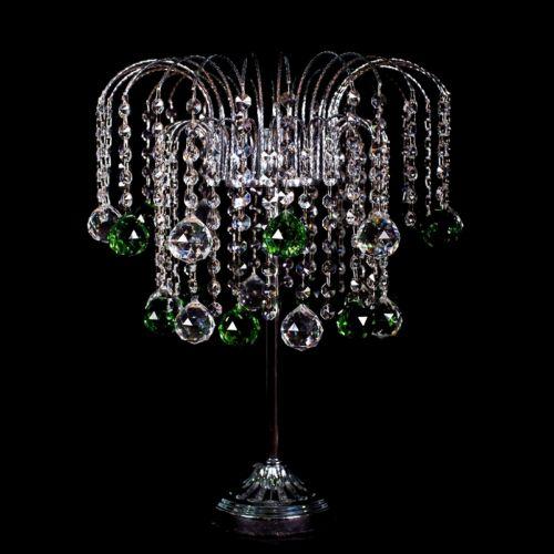 Настольная лампа Каскад №2 цветная