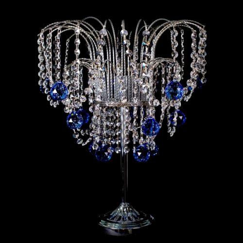 Настольная лампа Каскад №6 цветная