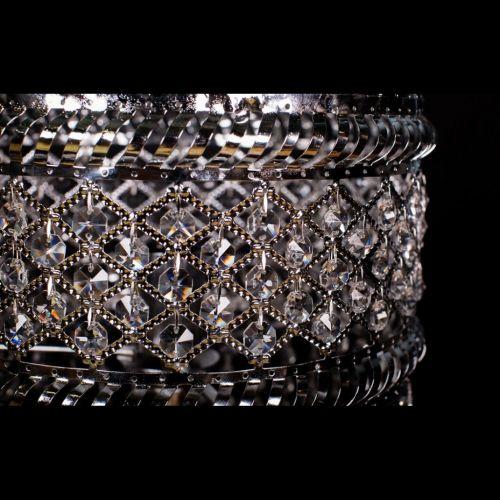 Настольная лампа Кольцо Ажур Сетка №2