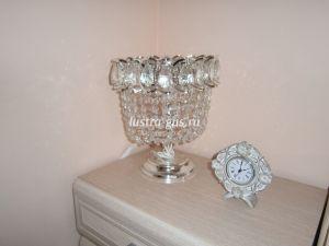 Лампа настольная Катерина № 2 Гусь Хрустальный, фото в интерьере