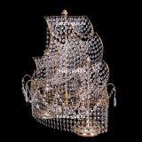 Настольная лампа Корвет №1 - 2 лампы цветная