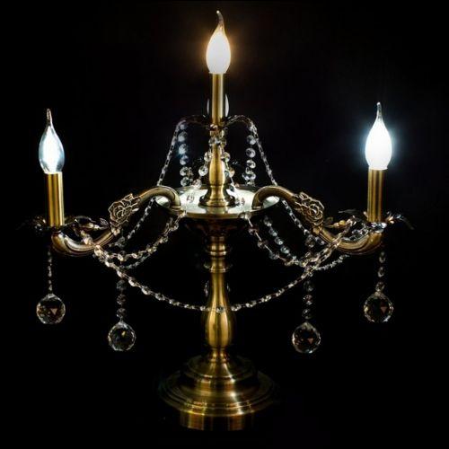 Настольная лампа Винтаж №3 под бронзу