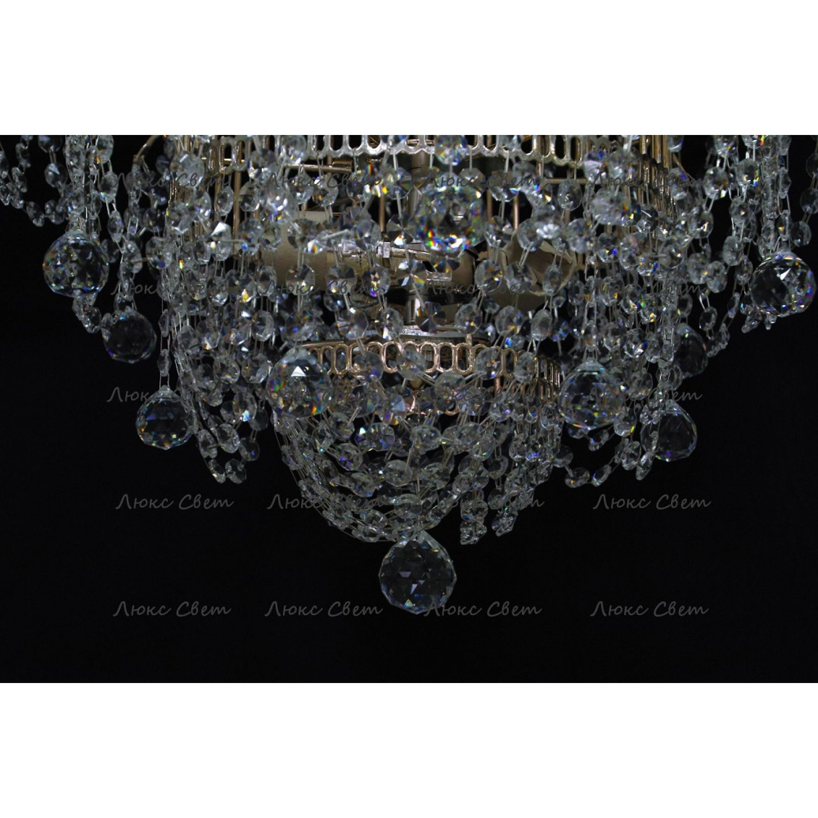 Люстра Акация № 2 - 3 лампы подвесная