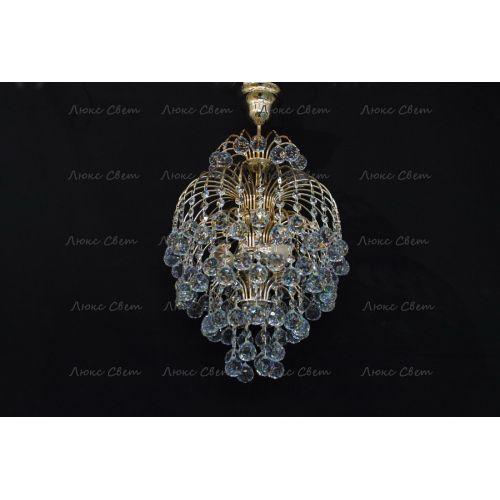 Люстра Хрустальные брызги с подвесом шар 30 мм