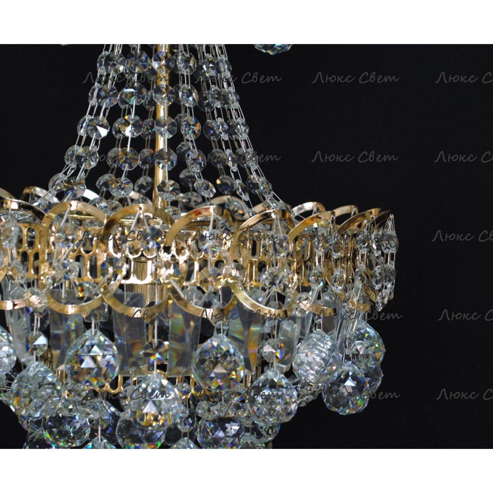Хрустальная люстра Натали 1 лампа шар