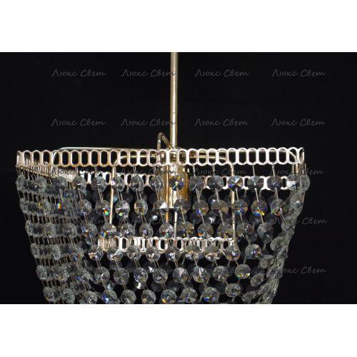 Люстра Квадрат 1 лампа Ракушка подвес