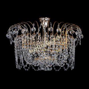 Светильник хрустальный Люстра Агата с подвесом шар 30