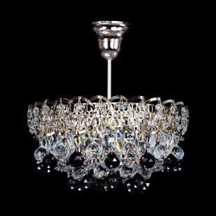 Люстра подвесная Астра шар черная 1 лампа