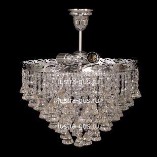 Люстра подвесная Капель конус 40