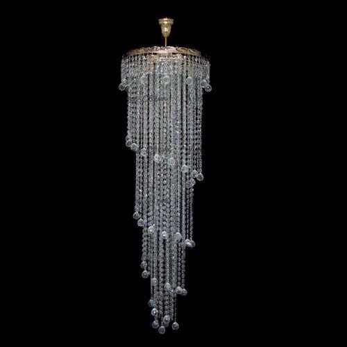 Люстра Капель Винтаж 3 лампы подвесная