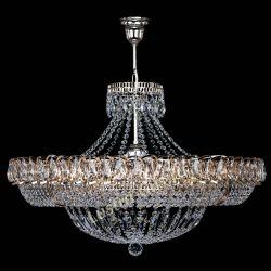 Люстра Кольцо Классика 6 ламп с подвесом