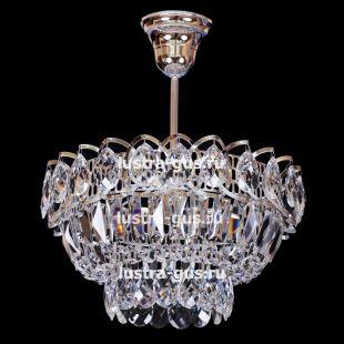 Люстра хрустальная Катерина 1 лампа с подвесом
