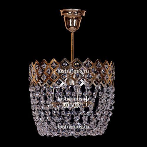 Люстра Корона № 4 подвесная, цвет фурнитуры: золото