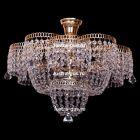 Лотос 5 ламп с подвесом