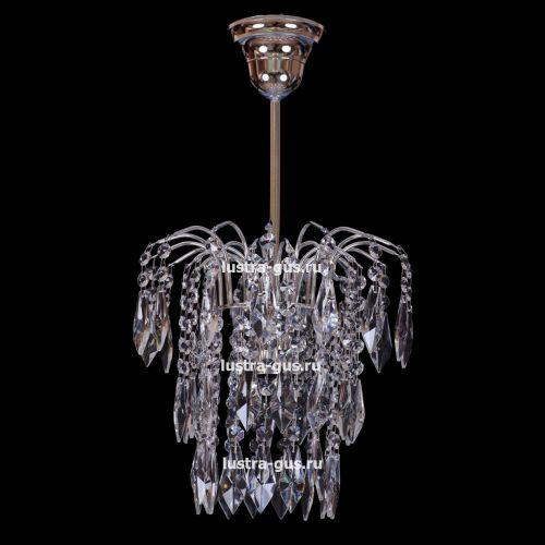 Люстра Зима Перо, цвет фурнитуры: серебро