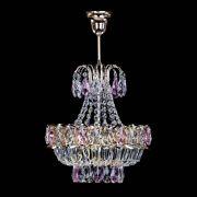 Люстра Ника 1 лампа розовая