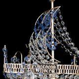 Люстра Парусник №1 синий