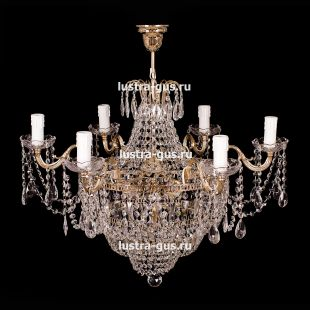 Подвесная рожковая люстра со свечами Люстра Светлана