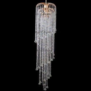 Люстра хрустальная Винтаж мк 3 лампы шар 30 мм