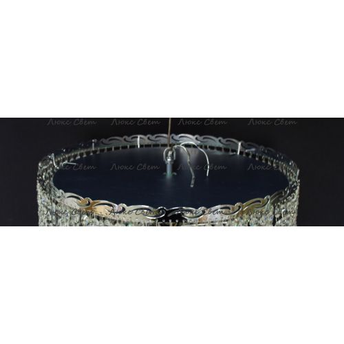 Люстра Капель 5 ламп № 1 шар 40 мм (собрана под конус)