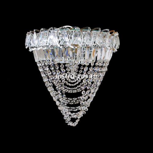 Хрустальная люстра Катерина  Водоворот 1 лампа