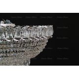 Люстра Водоворот Торжок, цвет фурнитуры: серебро