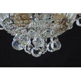 Люстра Водопад корона № 1, цвет фурнитуры: серебро