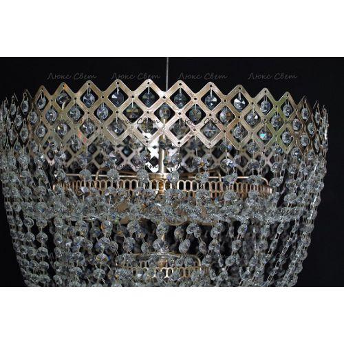 Люстра Водопад корона № 3