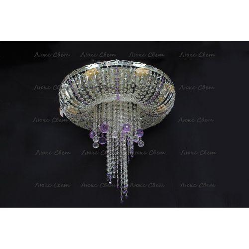 Люстра Анжелика 1 шар 40 мм фиолетовая