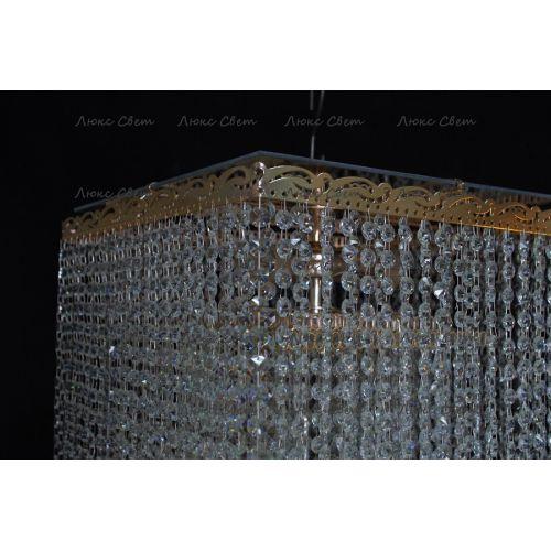 Люстра Квадрат гамма 53 см шар 30 мм