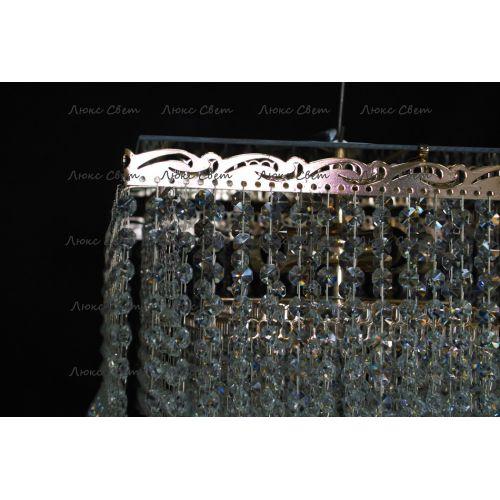 Люстра Квадрат гамма конус 40 мм длинная