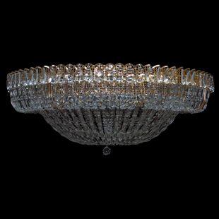 Большая люстра для гостиной Кольцо купол 2 - 1000 мм пластина