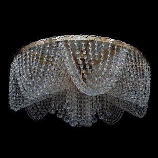 Потолочная люстра хрустальная Виктория шар 800 мм