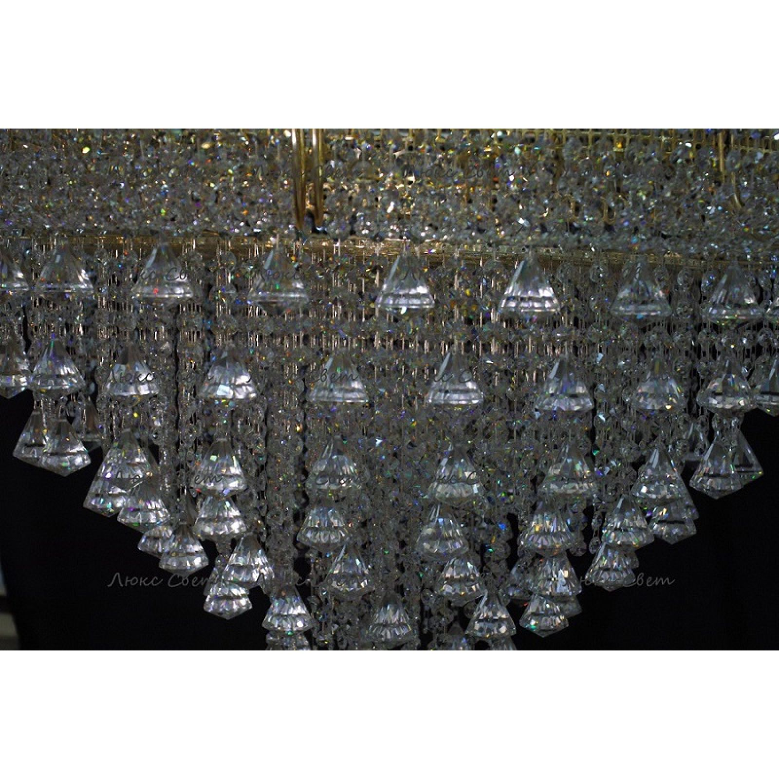 Люстра Кольцо Пирамида Конус 1000 мм