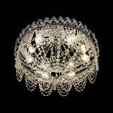 Люстра Алиса оптикон, диаметр 450 мм, цвет золото, Люстры Гусь Хрустальный