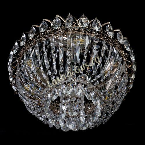 Люстра Астра Бутон №2, диаметр - 400 мм, цвет - золото Гусь Хрустальный