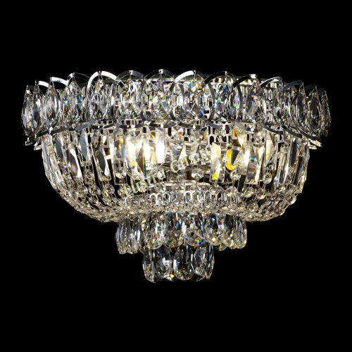 Люстра Астра Бутон, диаметр - 400 мм, цвет - серебро, Люстры Гусь Хрустальный