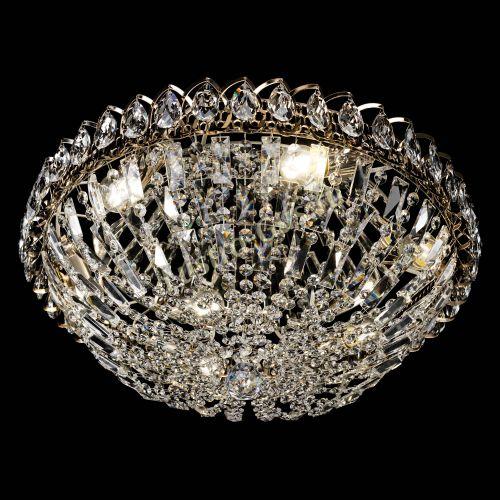 Люстра Двойной Купол 450 мм, цвет: золото Гусь Хрустальный