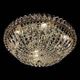 Люстра Двойной Купол 600 мм, цвет: золото, Люстры Гусь Хрустальный