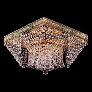 Люстра Квадрат №12 - 4 лампы