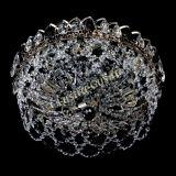 Люстра Хрустальный Каскад Ажур черный, диаметр - 450 мм, Люстры Гусь Хрустальный